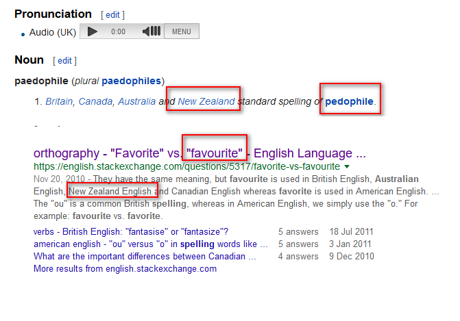 New Zealand spellings David Greig aka dazzathecameraman EXPOSED